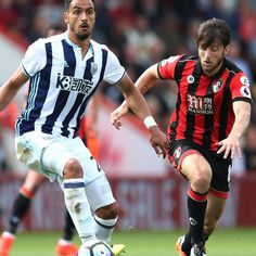 Nacer Chadli has strong debut but West Brom lose at Bournemouth