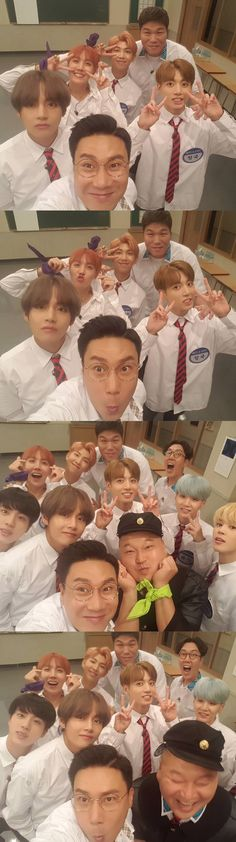 BTS on Knowing Brothers