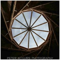 The Wood Hall Reciprocal Roof at Hill Holt Wood English Cottages, Round House, Chocolate Box, House In The Woods, Fairytale, Buildings, Woodworking, Construction, Spaces
