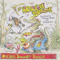 Le Hoogie Boogie: Louisiana French Music For Children. Fun storytime music; there is a great version of the Hokey Pokey on here, all in French.