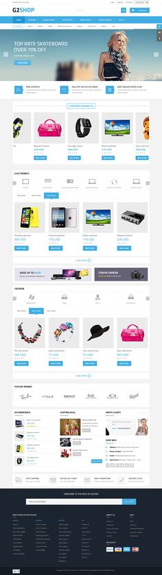 G2Shop - Multipurpose Joomla Template for JoomShopping