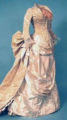 1884 Boston wedding gown