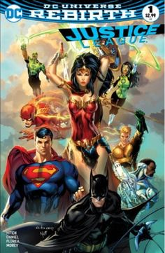 Justice League (2016) #1 - Most Good Hobby variant - Eric Basaldua and Nei Ruffino