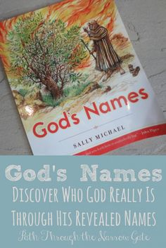 Gods Names- Discover Who God really is through His revealed names - An excellent family devotional from Sally Michael