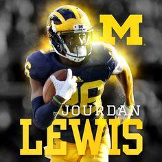 Jourdan Lewis Michigan Wolverines CB #26