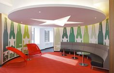 Heineken's office - very cool branding