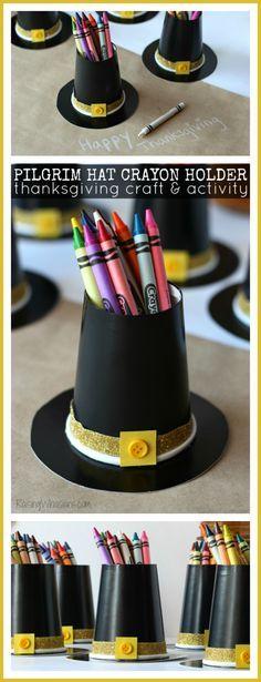 Pilgrim Hat Crayon H