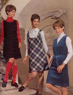 moda años 60 70.