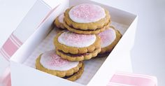 These colourful biscuits make delicious gifts and will delight the kids at the next birthday party.