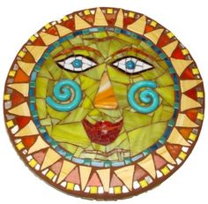 Make a Mosaic Stepping Stone - Workshop - Heidi Borchers - Artist