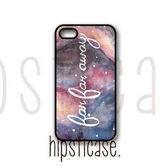 Far Far Away Galaxy Hipster Quote iPhone 4 Case Fits by HipstiCase, $14.99
