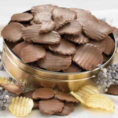 Chocolate Potato Chips - Snack Gifts- Nuts & Snacks- Figi's  for my husband's christmas
