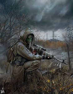 Top 15 best fallout 4 snipers that you should totally check out. These sniper list is too good to pass if you're seriously trying to with a sniper build. Post Apocalyptic Art, Post Apocalyptic Fashion, Fallout Art, Cyberpunk, Apocalypse Art, Mad Max, Military Art, Cthulhu, Sci Fi Art