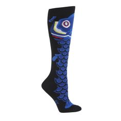 """""""Fish Kite"""" Women's Knee High Socks by SOCK IT TO ME 