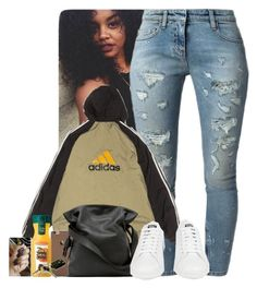 """"""""""" by jemilaa ❤ liked on Polyvore featuring Faith Connexion, adidas and Loewe"""