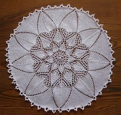 Knitted Doily