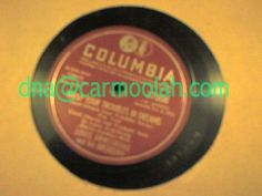 "louis armstrong and his orchestra ""Wrap Your Troubles In #Dreams"" ""#Stardust"" columbia 37808 vinyl records music for sale NM Near Mint 78 rpm record"
