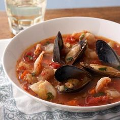 San Francisco Seafood Stew; Eat smart from Diabetic Living