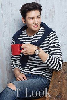 Photos of Ji Chang Wook's Fossil photoshoot in Look Magazine (Issue were posted in advance of its 7 September 2017 Ji Chang Wook Smile, Ji Chang Wook Healer, Ji Chan Wook, Ji Chang Wook Photoshoot, Park Hyung, Song Joong, Choi Jin, Park Bo Gum, Empress Ki