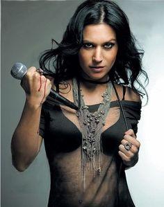 Cristina Scabbia- lead singer of Lacuna Coil