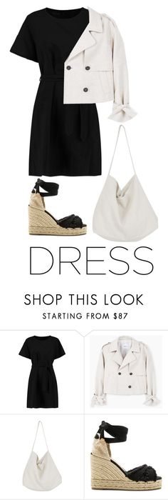 """""""this"""" by dantevandenabeele ❤ liked on Polyvore featuring Maje, MANGO, Cabbages & Roses and Castañer"""