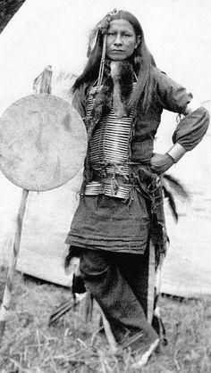 Little Finger - Sioux Warrior - 1898