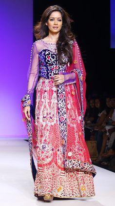 Red Hot: Aditi Rao Hydari and Vidya Malvade on the runway - Rediff.com