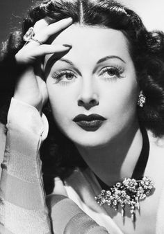 Source: marthaivers  #hedy lamarr #my