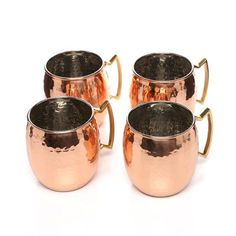 Old Dutch Hammered 16 Oz. Moscow Mule Mug Finish: Solid Copper / Nickel Lining, Size: 24 oz.