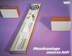 Telefunken Musikanlage Acusta Hifi (1972)