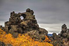 Best landscape Iceland: Dimmuborgir