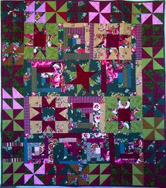 Love her quilts!