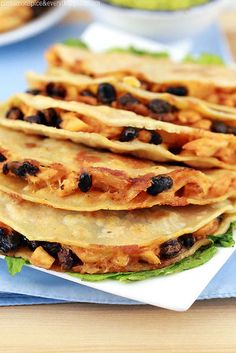 Buffalo Chicken and Black Bean Crispy Tacos