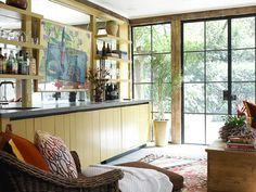Sunroom // Carter Kay Interiors // Atlanta, GA // bar