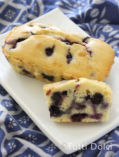 Blueberry-Lemon Loaf Cake