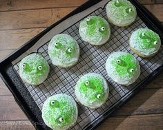 Frog Cookies Lofthouse Cookies, Frog Cookies, Cupcake Cookies, Cupcakes, Candy Eyeballs, Recipe Cover, Candy Sprinkles, Recipes, Cupcake