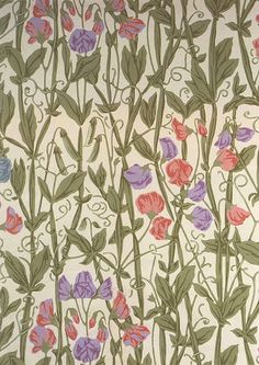 William Morris Wallpaper Design ElfGoblin on Flickr