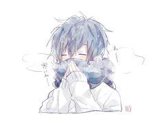 Today's weather so cold~ amor boy dark manga mujer fondos de pantalla hot kawaii Cute Anime Boy, Anime Boys, Otaku Anime, Anime Kawaii, Anime Chibi, Kise Kuroko, Fan Art Anime, Image Manga, Cute Chibi