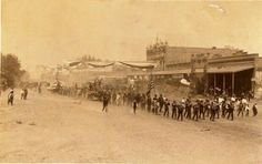 Early 1900's Hanford, California