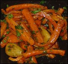 Carottes confites Plus Candied Carrots, Baked Carrots, Vegetable Recipes, Chicken Recipes, Healthy Dinner Recipes, Vegetarian Recipes, Wine Recipes, Cooking Recipes, Cooking Kids