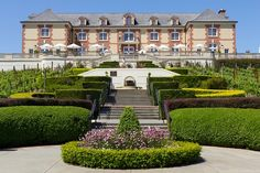 Napa Valley Domaine Carneros Winery I'd love to visit this place!