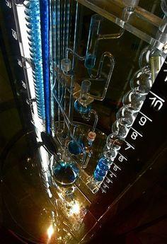 Modernday Water Clocks of Bernard Gitton