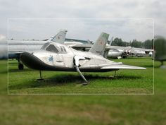 odd aircraft | STRANGE RUSSIAN MILITARY AIRCRAFT - GLIDER WITH SKIDS