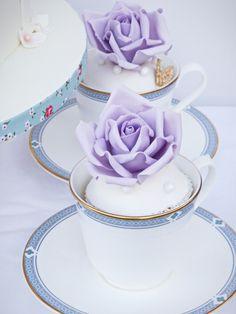 Rose tea cup cupcakes Rose Tea, Beautiful Wedding Cakes, Wedding Cake Designs, Special Day, Tea Cups, Cupcakes, Tableware, Cupcake Cakes, Dinnerware