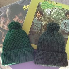 Mike Nesmith Knitted Wool Hat The Monkees  pick by jennionenote