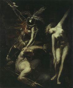Romantic Paintings, Old Paintings, William Blake, Renaissance Kunst, Roman Noir, Artist Supplies, Arte Horror, Classical Art, Gothic Art