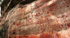 El sorprendente arte rupestre de Parque Nacional Chiribiqueste dela Amazonía que asombró a 'The Guardian'_Pronto se descubrira la verdad de nuestros ancestros de hace mas de 7000 años_ ha llegado la hora de conocer la verdad de nuestros genes reales....Somos Atlanticenses y no Indoeuropeos_ Gonchy1437_64_332