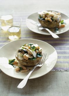 Artichoke and Cannellini Bean Salad