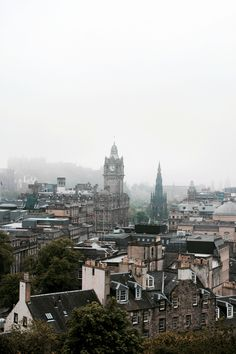 from Calton Hill, Edinburgh, SC ~ Kyle Bonallo Oh The Places You'll Go, Places To Travel, Beautiful World, Beautiful Places, City From Above, Paris Travel, Adventure Is Out There, Vacation Spots, Wonders Of The World