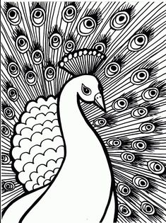 Peacock Color Page Coloring Pictures Of Peacocks Cortexcolorco. Peacock Color Page Peacock Coloring Page Free Printable Coloring Pages. Peacock Coloring Pages, Abstract Coloring Pages, Coloring Pages To Print, Free Printable Coloring Pages, Coloring Book Pages, Coloring Pages For Kids, Coloring Sheets, Kids Coloring, Mandala Coloring